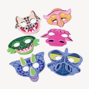 Otc Foam Dinosaur Masks X 6