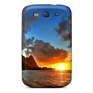 High Impact Dirt/shock Proof Case Cover For Galaxy S3 (amazing Summer Sunset =)
