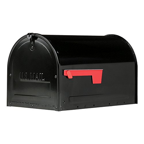 Gibraltar Mailboxes MLM16KB1 Marshall Locking Mailbox, Large, Black