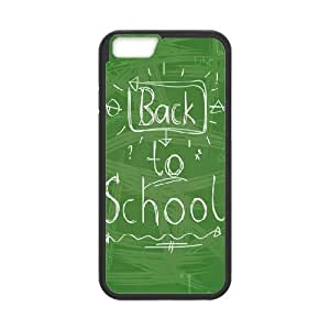 Cases for IPhone 6 Plus, Back to School Handwriting Cases for IPhone 6 Plus, Psychedelic Anime Black