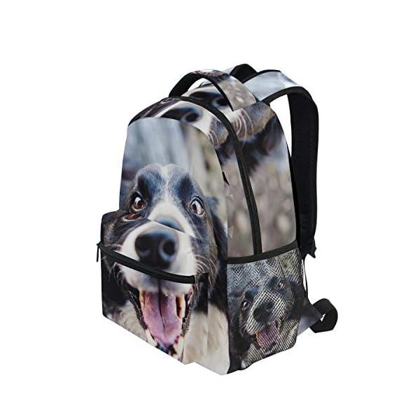 DXG1 Zaino Donna Uomini Ragazzo Ragazzo Borsa Scuola Animale Canine Portafoglio Viaggio College Spalla Grande Capacità… 3 spesavip