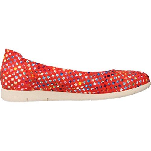 Zapatos bailarina para mujer, color Rojo , marca SABRINAS, modelo Zapatos Bailarina Para Mujer SABRINAS ATENAS V17 Rojo Rojo