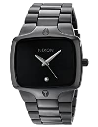 Nixon Men's NXA140001 PVD Stainless Steel Black Dial Watch