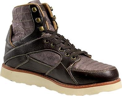 Unstitched Utilities Men's Tango Boot Tyvek,Dark Chocolate,US ...