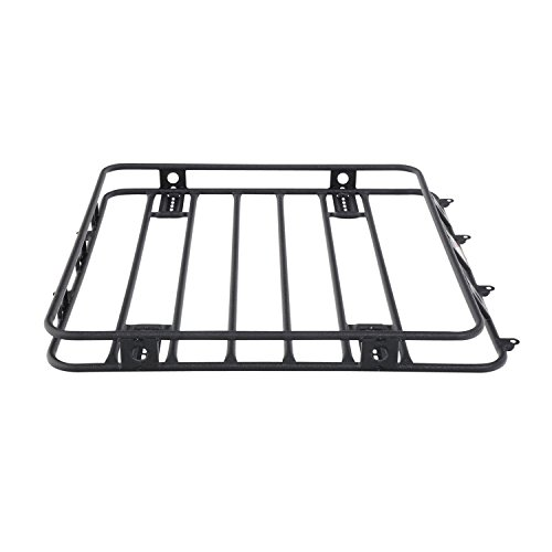 Smittybilt 40404 Defender 4' X 4' Welded One Piece Roof Rack (2006 Ford Escape Roof Rack)