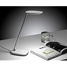 Nantonin®good Quality Energy Saving Led Sensor Touch Switch Table Desk Lamp Dimmable (4 Brightness Mode, 12V, 9W, Touch-Sensitive Control Panel, with USB Charging Port)