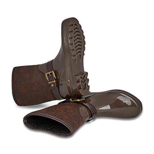 GOSCH SHOESGosch Shoes Sylt Damen 7102-504 - Botas de agua Mujer Marrón / marrón claro