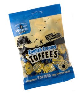 Walkers Nonsuch English Creamy Toffees, 5.3 oz., Five bags