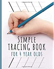 Simple Tracing Book for 4 year olds: Boys. Vehicles coloring and motor skills exercises. Tracing worksheet for Boys, Toddler, Preschooler (4 year old tracing worksheets)