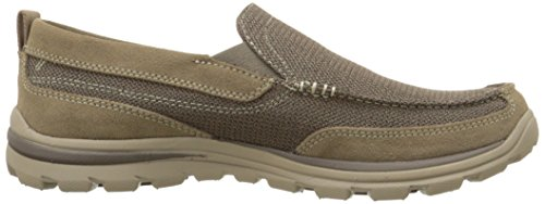 Skechers Usa Superieur Milford Instappers Loafer Lichtbruin