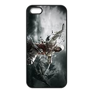 iphone5 5s phone cases Black Assassins Creed cell phone cases Beautiful gifts PYSY9392488