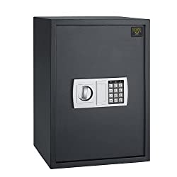 Paragon 7775 Deluxe Safe 7775 Lock & Safe 1.8 Cf Large Electronic Digital Safe Gun Jewelry Home Secure