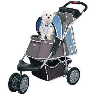 Cochecito para mascotas Ips-09/azul, portador de perros, carrito, remolque