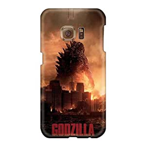 Scratch Protection Hard Cell-phone Case For Samsung Galaxy S6 With Customized Stylish 2014 Godzilla Skin JohnPrimeauMaurice