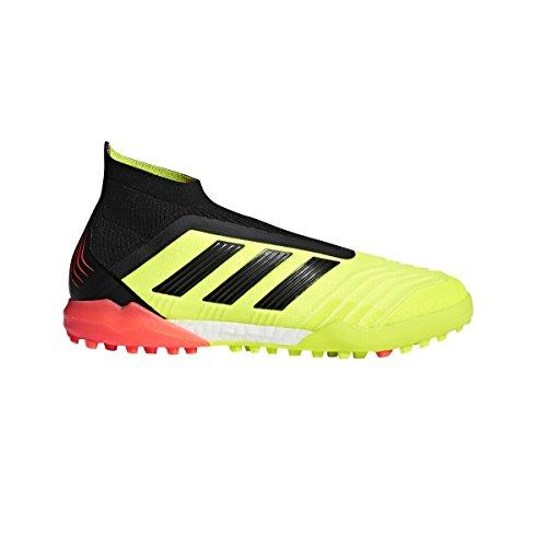 adidas Predator Tango 18+ Turf Shoe - Men's Soccer 10 Solar Yellow/Core Black/Red