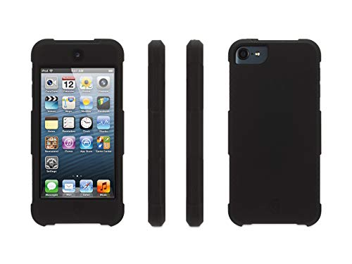 - Griffin Survivor Skin iPod Touch (5th/6th gen.) Case with Tough Silicone and Shock-Absorbing Design, Black