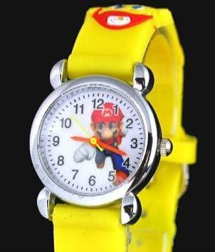 Supermario Cartoon Watches Livraison Gratuite 10pcs! 3D Cartoon Super Mario Watch Cadeau D'Anniversaire De Vacances pour Les Enfants Filles Garçons Étudiants