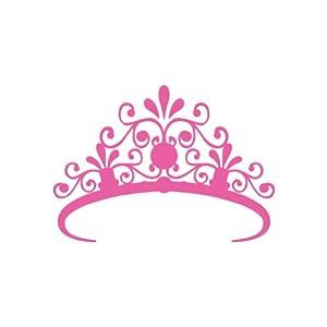 Amazon.com: (2x) Pink Crown Royal Princess Sticker - Decal