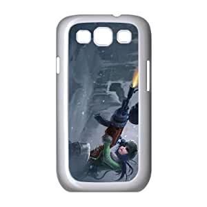 Samsung Galaxy S3 9300 Cell Phone Case White League of Legends Arctic Warfare Caitlyn OIW0437134