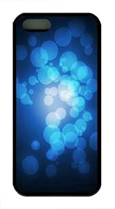 Bokeh TPU Silicone iPhone 5S/5 Case Back Cover - Black