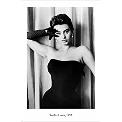 starlet SOPHIA LOREN vintage photo poster 1957 24X36 Famous Actress