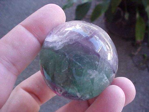 V0508 Gemqz Rainbow Fluorite Sphere Large From China!!!!