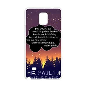 The faulting our stars artistic Cell Phone Case for Samsung Galaxy Note4 by runtopwell