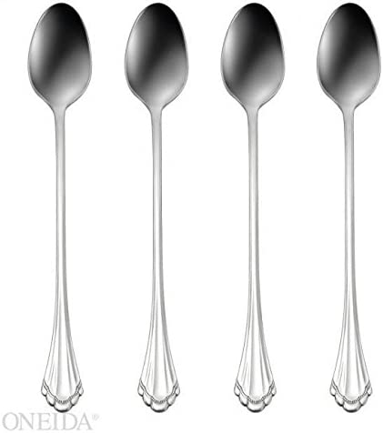 Oneida Marquette Fine Flatware Set Set of 4 Teaspoons 18//8 Stainless