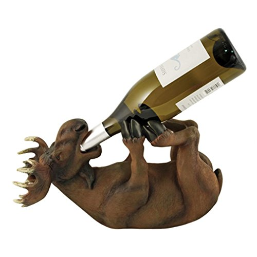 Mischievous Moose Wine Bottle Holder by Foster and Rye