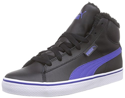 Web Enfant Perf black 01 Vulc Noir Puma Hautes Schwarz Baskets The 1948 Mixte surf Mid Jr 18wHq6px