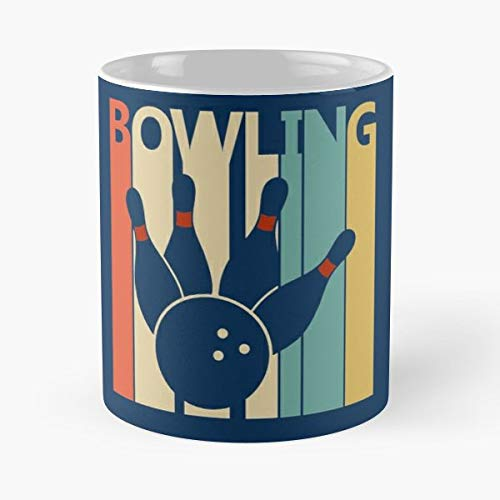 Bowling T Shirt Tshirt Tee Halloween Costume - Best Gift Coffee Mugs Unique Ceramic Novelty Cup -