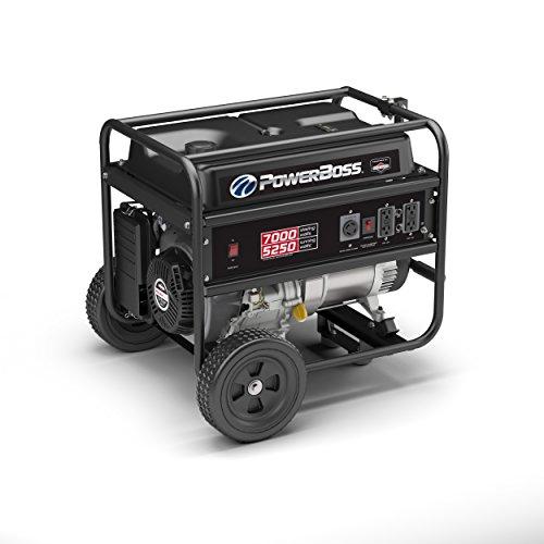 PowerBoss 30660, 5250 Running Watts/7000 Starting Watts, Gas Powered Portable Generator