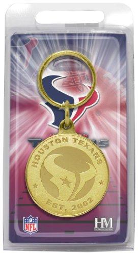 (NFL Houston Texans Bronze Bullion Keychain)