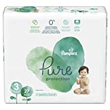 Diapers Size 3, 27 Count - Pampers Pure Protection