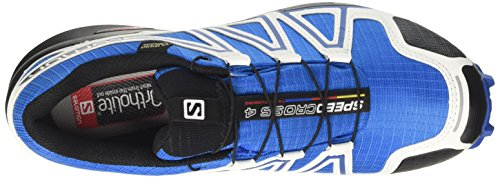 Salomon Herren Speedcross 4 GTX Kletterschuhe Mehrfarbig (White Sensif Indigo Bu)