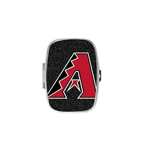 [Hot Sale] Personalized Square Storage Box Pill box Jewelry Box Arizona Diamond Backs Logo Mini Design PearCom - Arizona Fashion Square