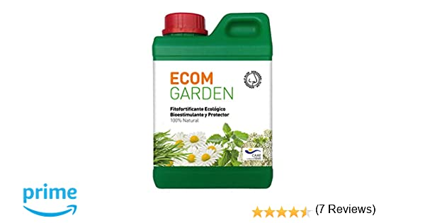 Vigorizante Natural para Plantas De Interior Y Exterior, Huerta, Frutales, Setos Y Jardín. Rinde hasta 33 litros diluido.: Amazon.es: Jardín