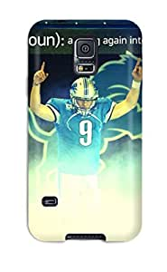 Hot Tpu Cover Case For Galaxy/ S5 Case Cover Skin - Detroit Lions