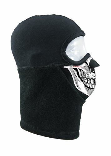 - Seirus Innovation Combo Micro Headliner Balaclava Headwear, One Size, Black/Skull