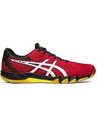 ASICS Gel-Blade 7 Mens Indoor Court Shoe (Speed Red/White)
