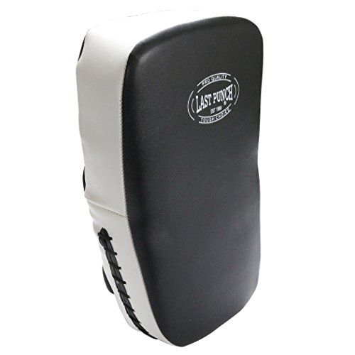 Last Punch White and Black Boxing Training Pad Kicking and Punch by Last Punch