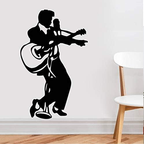 YANCONG Pegatinas de Pared Tatuajes de Pared Música Rock Guitarra ...