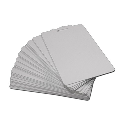 Blank White NFC PVC ISO Badges - NXP NTAG216 - 25 Pack supplier