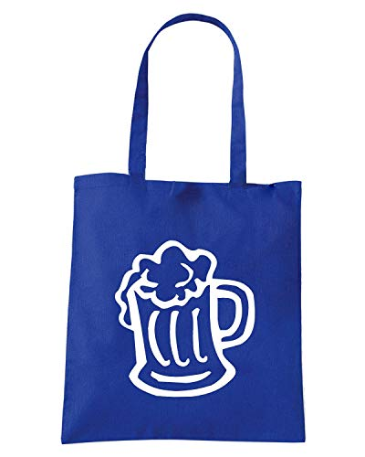Borsa Shopper Royal Blu FUN0739 BEER MUG