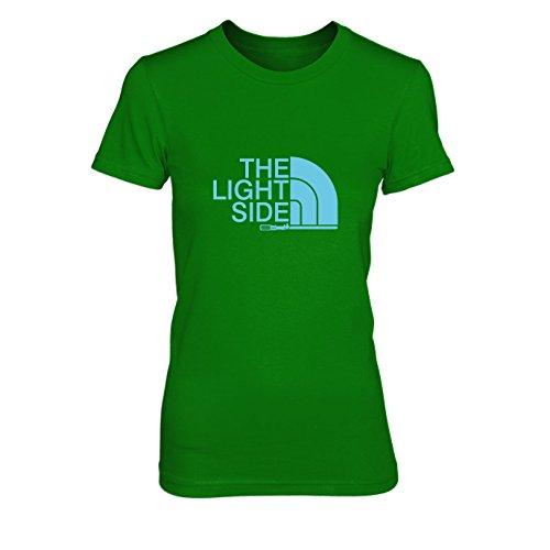 The Light Side - Damen T-Shirt, Größe: S, Farbe: grün