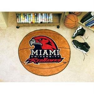 Fanmats Miami of Ohio Basketball Rug