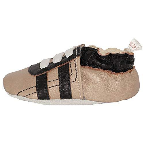 Babysteps schwarze Turnschuhe Baby Schuhe XS Sandy