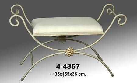 Pleasing Boudoir Donregaloweb Wrought Iron Bench With Cushion Patina Frankydiablos Diy Chair Ideas Frankydiabloscom