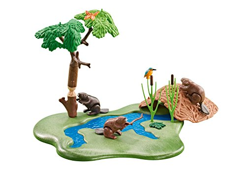 Playmobil Beaver Lodge Add On Playset
