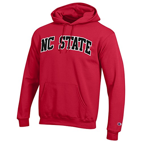 - NCAA North Carolina State Wolfpack Men's Eco Power Blend Hooded Sweat Shirt, Small, Scarlet